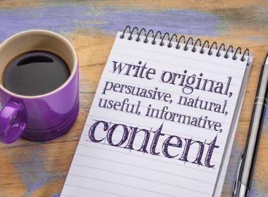 Service rédactionnel écrire pour le web