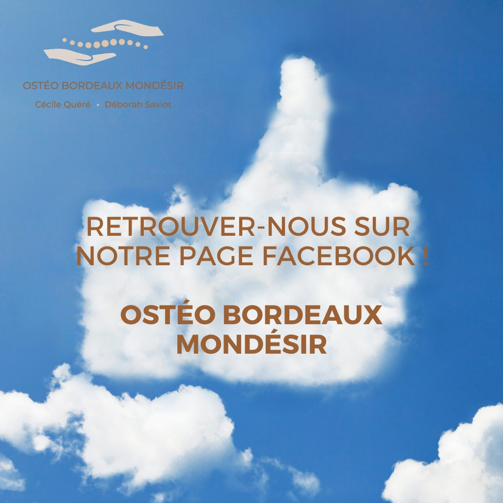 Osteo Bordeaux Mondésir Animation de la page facebook community management conseil en communication