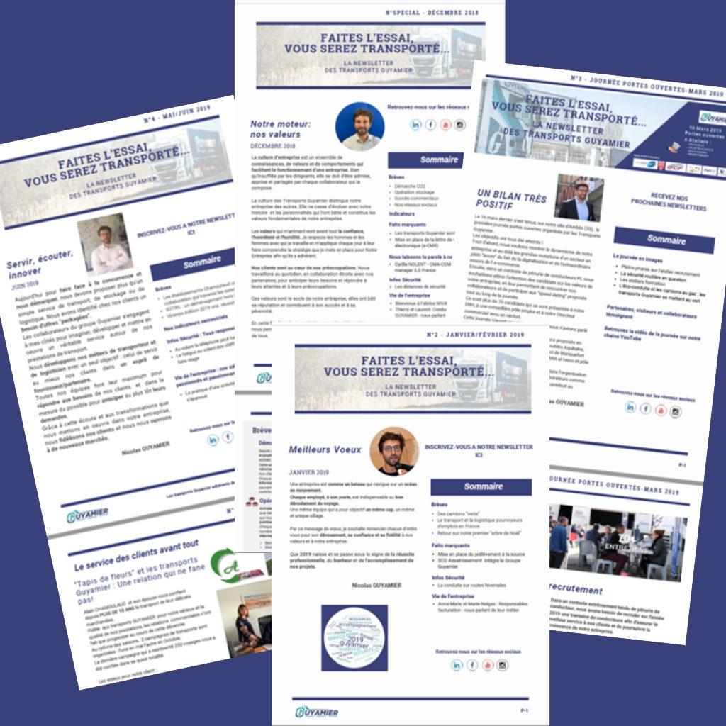 Ecriture de contenus Newsletter rédactionnel AMollier conseil Communication et marketing digitale