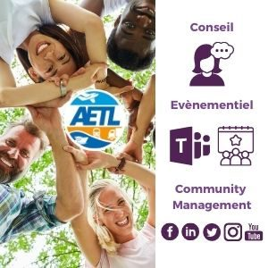 AMollier Conseil AETL client community manager communication digitale