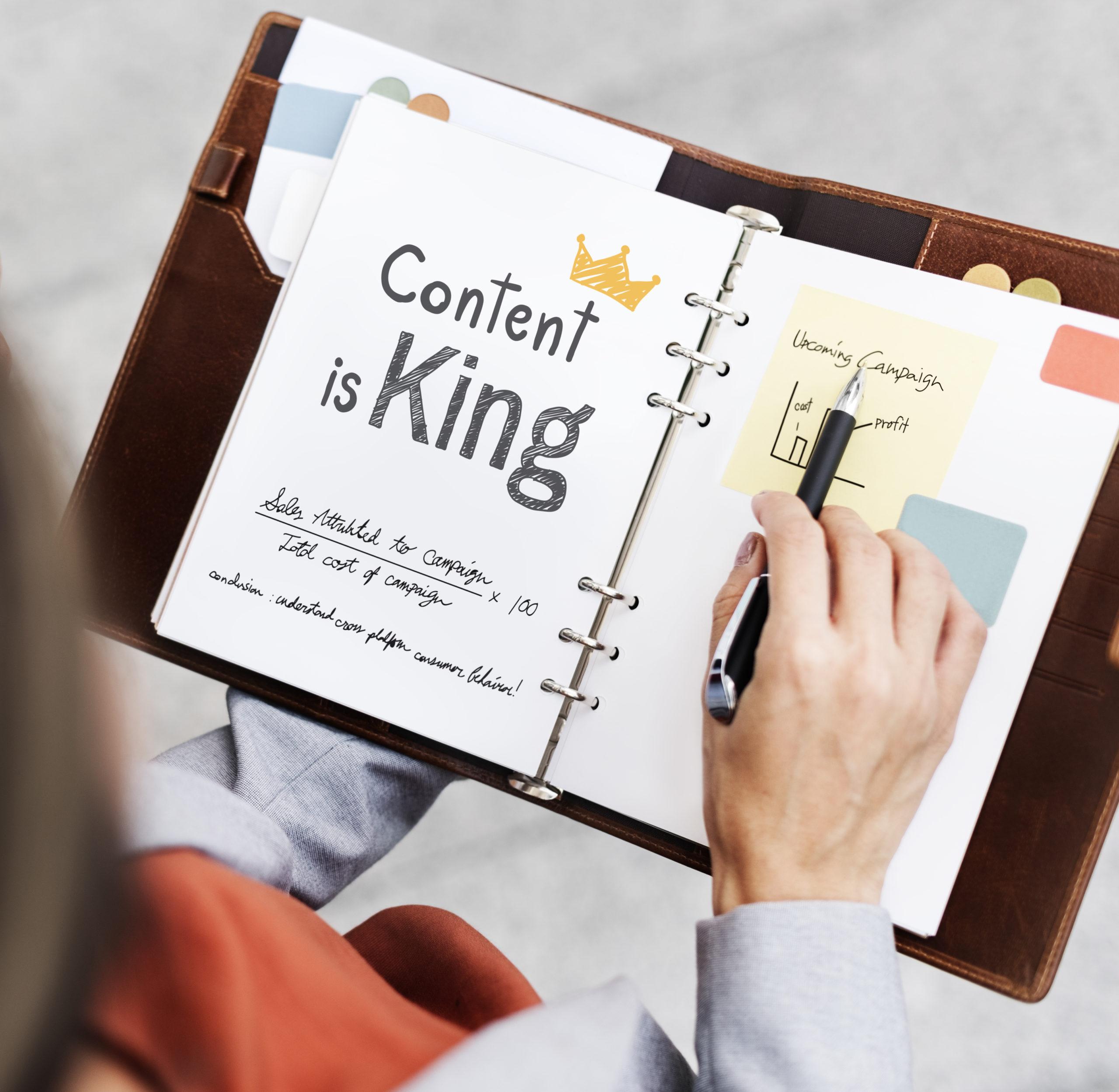 Content marketing par Amollier Conseil écrire pour être vu